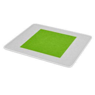 Tablero diario del corte del vidrio por el verde tablas de cortar