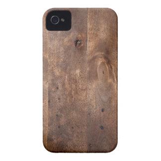 Tablero gastado del pino Case-Mate iPhone 4 cobertura