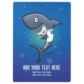 Tablero médico de la atención sanitaria del tiburó