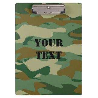Tablero militar del color del camuflaje del verde