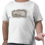 Tablero para un juego ferroviario, 1850 camiseta