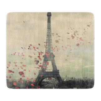 tablero París-temático del corte del vidrio Tablas De Cortar