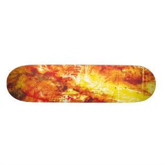 Tablero partido del fuego tabla de skate