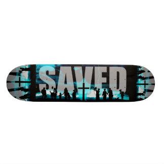 """Tablero patinador ahorrado del logotipo de la patineta 7 3/8"""""""