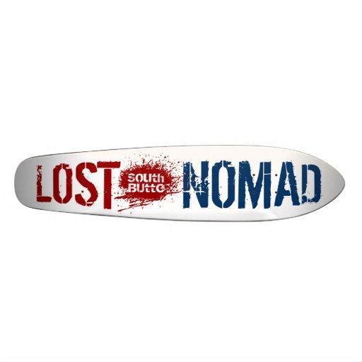 Tablero perdido del nómada de la mota del sur monopatín