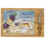 Tablero personalizado fiesta del queso de la playa