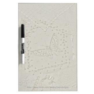 Tablero seco bordado del borrado del diseño del tableros blancos