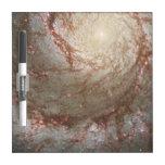 Tablero seco del borrado de la galaxia pizarra