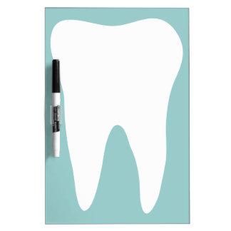 Tablero seco del borrado de la oficina dental para pizarra