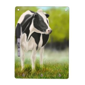 Tablero seco del borrado de la vaca de leche de Ho Tableros Blancos