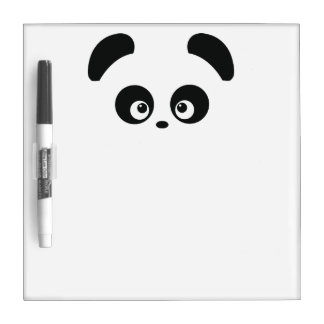 Tablero seco del borrado de Panda® del amor Pizarras