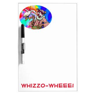 Tablero seco del borrado de Whizzo Pizarras
