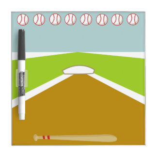 Tablero seco del borrado del béisbol de la meta tableros blancos