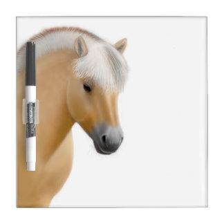 Tablero seco del borrado del caballo noruego pizarras