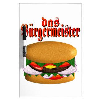 tablero seco del borrado del das Burgermeister Pizarra