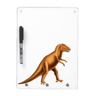 Tablero seco del borrado del dinosaurio de Rex del Pizarras Blancas
