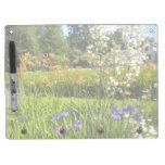 Tablero seco del borrado del jardín del iris pizarras blancas de calidad