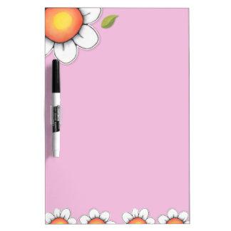 Tablero seco del borrado del rosa de la alegría de pizarras blancas de calidad