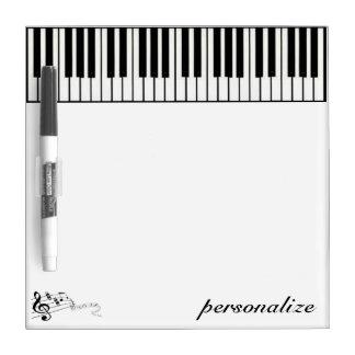 tablero seco del borrador del teclado pizarras blancas