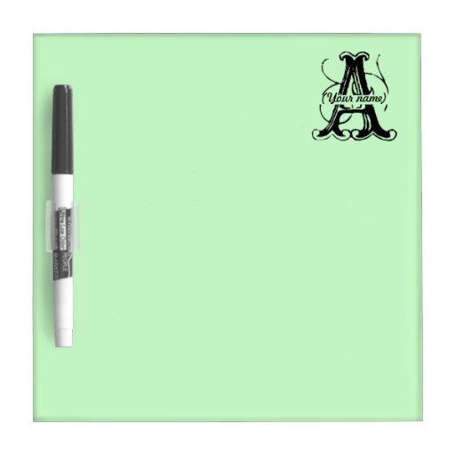 Tablero seco personalizado del borrado - A Pizarras Blancas