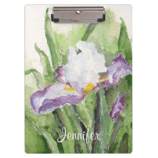 Tablero suave del iris de la acuarela