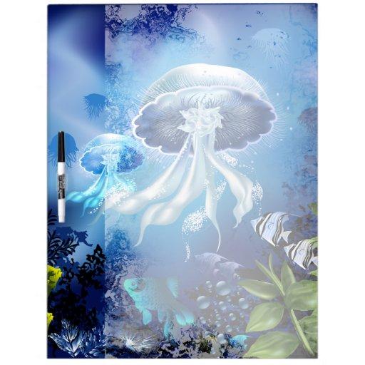 Tablero subacuático del Seco-Borrado 6A1 Pizarras Blancas