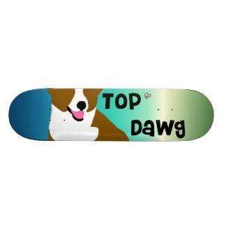 Tablero superior de Dawg Patin