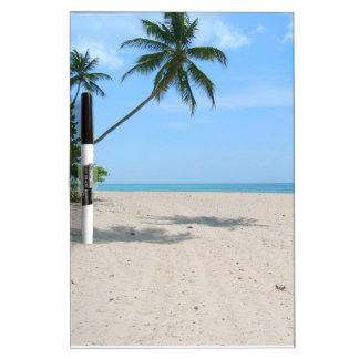 Tablero tropical del Trapo-Apagado de la playa de  Pizarras Blancas De Calidad