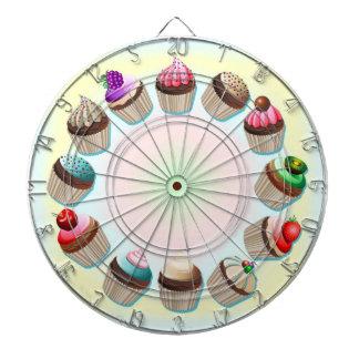 Tableros de dardo coloridos del círculo de las mag