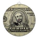Tableros de dardo de Bernanke del capitalismo del  Tabla Dardos