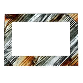 tableros de muelle rústicos del driftwood diagonal marcos magneticos