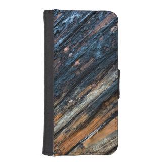 Tableros remendados billetera para iPhone 5