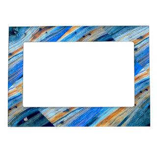 tableros rústicos resistidos diagonal del enebro marcos magnéticos de fotos