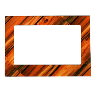 tableros rústicos resistidos diagonal del pino foto de imanes