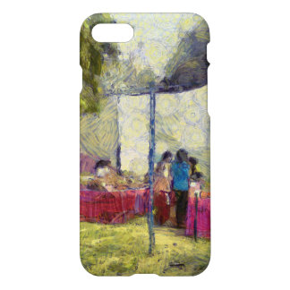 Tables at an exhibition iPhone 8/7 case