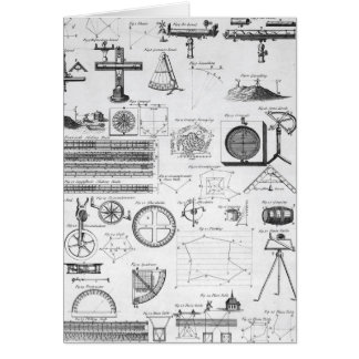 Tables of Surveying Cards