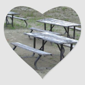 Tables Wasaga Beach Heart Sticker