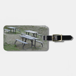 Tables Wasaga Beach Luggage Tag