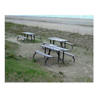 Tables Wasaga Beach Postcard
