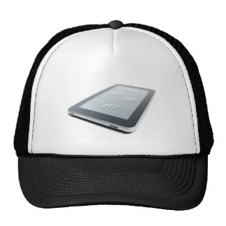 Tablet and paw prints hat