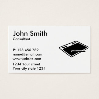 Tablet Business Card