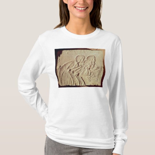 Tablet depicting four scribes at work T-Shirt