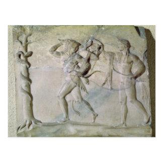 Tablet depicting Hercules Postcard
