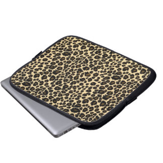 Tablet & Laptop Sleeve - Leopard Fur
