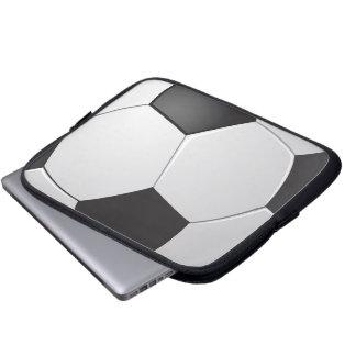 Tablet & Laptop Sleeve - Soccer Ball
