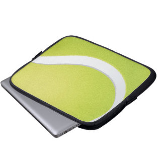 Tablet & Laptop Sleeve - Tennis Ball