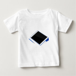 Tablet on stand and digital pen baby T-Shirt