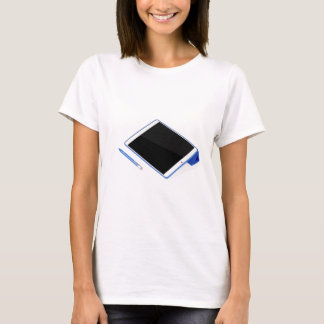 Tablet on stand and digital pen T-Shirt