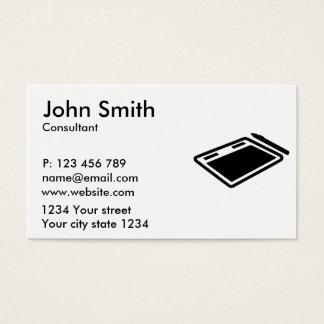 Tablet pen business card