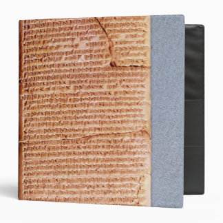 Tablet relating the ritual sacrifices vinyl binder